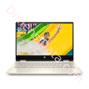 Picture of Notebook HP Pavilion x360 14-dh0035TX [6UQ51PA] Gold